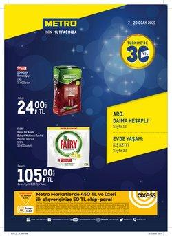 Süpermarket fırsatları İstanbul Metro kataloğu ( 3 gün kaldı )