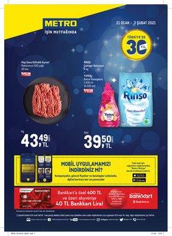 Süpermarket fırsatları Ankara Metro kataloğu ( Dün yayınlandı )