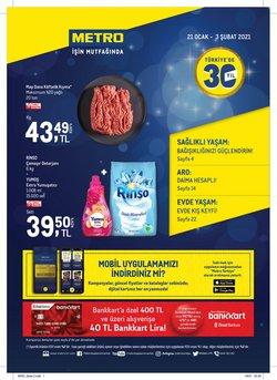 Süpermarket fırsatları İzmir Metro kataloğu ( Bugün yayınlandı )