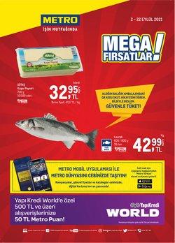 Metro broşürdeki Süpermarketler dan fırsatlar ( 3 gün kaldı)