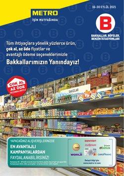 Metro broşürdeki Süpermarketler dan fırsatlar ( 8 gün kaldı)