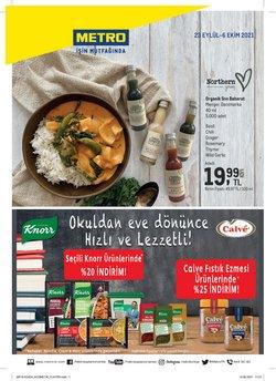 Metro broşürdeki Süpermarketler dan fırsatlar ( 9 gün kaldı)