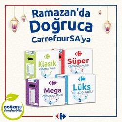 CarrefourSA broşürdeki Ramazan dan fırsatlar ( 7 gün kaldı)