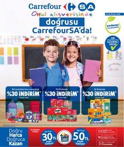 CarrefourSA broşürdeki Süpermarketler dan fırsatlar ( Bugün son gün)