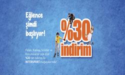 İstanbul broşürdeki Intersportdan fırsatlar