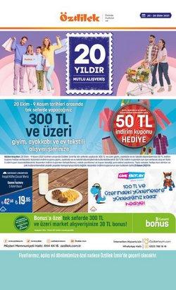 Özdilek Ev Tekstili broşürdeki Ev ve Mobilya dan fırsatlar ( Dün yayınlandı)