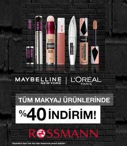 Kozmetik fırsatları İnegöl Rossmann kataloğu ( Bugün son gün )