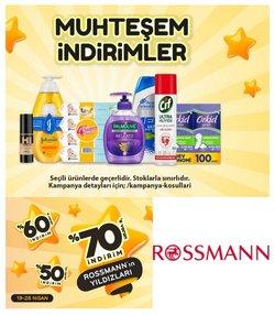 Kozmetik fırsatları Derince (Kocaeli) Rossmann kataloğu ( Dün yayınlandı )