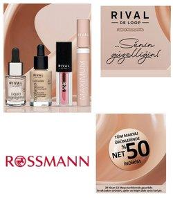 Rossmann broşürdeki makyaj dan fırsatlar ( Dün yayınlandı)