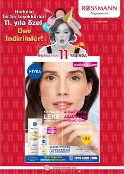 Rossmann broşürdeki Kozmetik ve Bakım dan fırsatlar ( 8 gün kaldı)