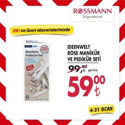 Ankara Rossmann indirim kuponu ( 2 gündür yayında )