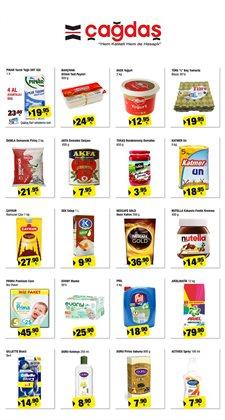 Süpermarket fırsatları İstanbul Çağdaş kataloğu ( Dün yayınlandı )