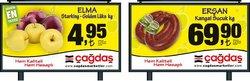 Çağdaş broşürdeki Süpermarketler dan fırsatlar ( Yarın son gün)