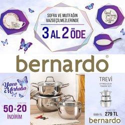 Bernardo broşürdeki Bernardo dan fırsatlar ( Dün yayınlandı)