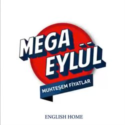 English Home kataloğu ( 10 gün kaldı )