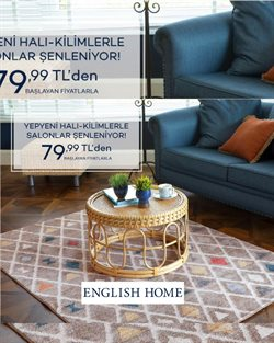 English Home kataloğu ( 2 gündür yayında )
