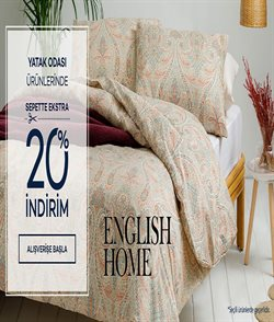 English Home kataloğu ( Yarın son gün )