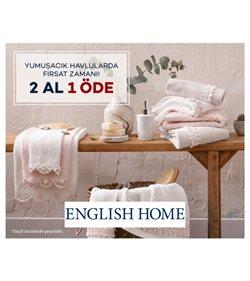English Home kataloğu ( Bugün yayınlandı )