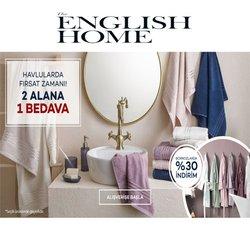 English Home kataloğu ( 3 gündür yayında )