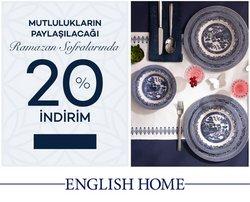 English Home broşürdeki Ramazan dan fırsatlar ( 2 gün kaldı)