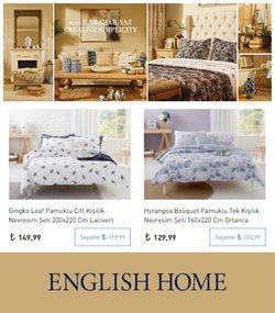 English Home kataloğu ( Dün yayınlandı )
