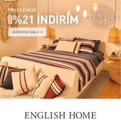 English Home kataloğu ( Bugün son gün)