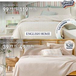 English Home broşürdeki Ev ve Mobilya dan fırsatlar ( 7 gün kaldı)