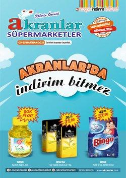 Akranlar Süpermarket broşürdeki Akranlar Süpermarket dan fırsatlar ( 3 gün kaldı)