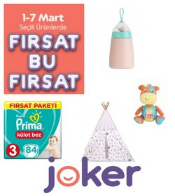 Oyuncak ve Bebek fırsatları Ankara Joker kataloğu ( Bugün son gün )