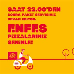 Eskişehir TerraPizza kataloğu ( Süresi geçmiş )