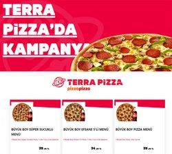 TerraPizza kataloğu ( 3 gündür yayında )