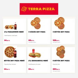 TerraPizza kataloğu ( Bugün son gün)