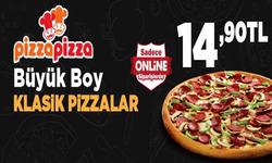 İzmir broşürdeki Pizza Pizzadan fırsatlar