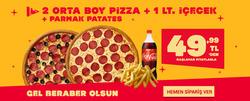 Erzurum TerraPizza indirim kuponu ( 3 gündür yayında )