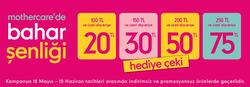 İstanbul broşürdeki Mothercaredan fırsatlar