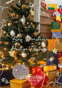 L'occitane broşürdeki Yılbaşı dan fırsatlar ( 10 gün kaldı)