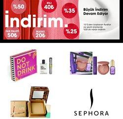 Sephora kataloğu ( Bugün yayınlandı)