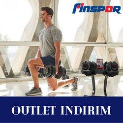 Finspor broşürdeki Spor dan fırsatlar ( Bugün yayınlandı)