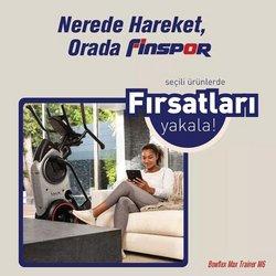 Finspor broşürdeki Spor dan fırsatlar ( 4 gün kaldı)