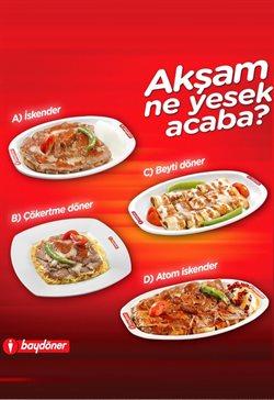 Kafe ve Restoranlar fırsatları Ankara Baydöner kataloğu ( Uzun geçerlilik )