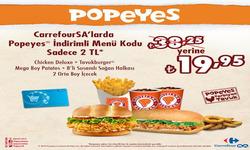 İstanbul broşürdeki Popeyesdan fırsatlar