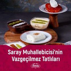Kafe ve Restoranlar fırsatları Saray Muhallebicisi kataloğu ( 3 gün kaldı )