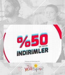 Yalı Spor broşürdeki Yalı Spor dan fırsatlar ( Dün yayınlandı)