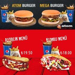 Atom Tost broşürdeki Kafe ve Restoranlar dan fırsatlar ( 6 gün kaldı)