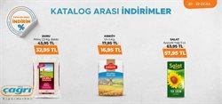 Süpermarket fırsatları Ankara Çağrı Market kataloğu ( Bugün son gün )