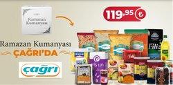 Çağrı Market broşürdeki Ramazan dan fırsatlar ( 7 gün kaldı)