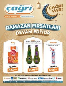 Çağrı Market broşürdeki Ramazan dan fırsatlar ( Dün yayınlandı)