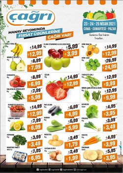 Süpermarket fırsatları Gemlik Çağrı Market kataloğu ( 2 gün kaldı )