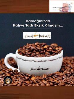 Gönül Kahvesi kataloğu ( Süresi geçmiş )