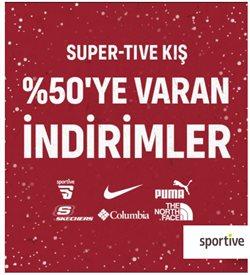 Spor fırsatları Ankara Sportive kataloğu ( 18 gün kaldı )